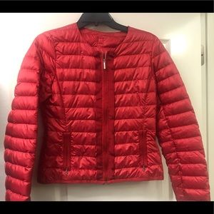 MaxMara weekend red puffer coat